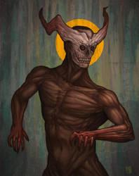 Pale looking angel by Draugth