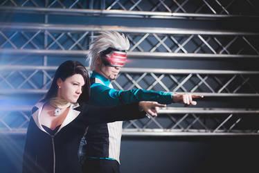 Elffi and YumiKoyuki - Phoenix Wright by Avrasil