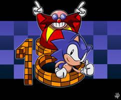 Sonic got 18 by NkoGnZ