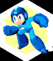 Go go Megaman! by NkoGnZ