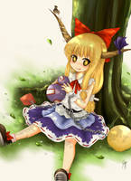 Suika Ibuki by Xephyr26