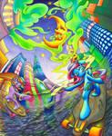 OC Commission: Kush Sisters Blazin by Muffyn-Man
