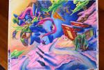 OC Commission: Blueberry Sunrise by Muffyn-Man