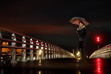 Night Bridge by Rieek