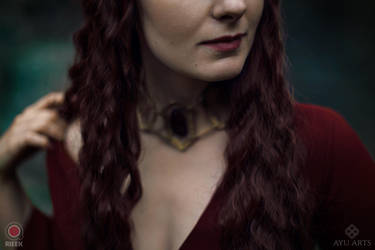 Melisandre necklace by Rieek
