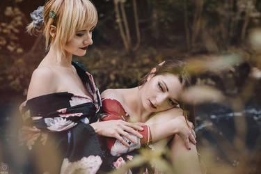 Geisha relax by Rieek