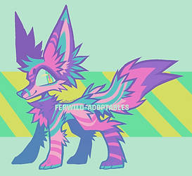 (OPEN) OTA Fox #1 by Ferwild-Adoptables