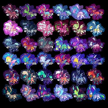 (5/36 OPEN) Tiny Pony Batch #1 by Ferwild-Adoptables