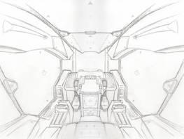 Cockpit Sketch by NEMESIS-01