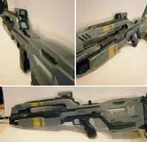 Halo 4 Battle Riffle finished by NEMESIS-01