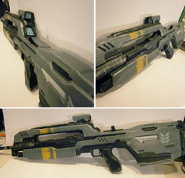 Halo 4 Battle Riffle finished by NEMESIS-01