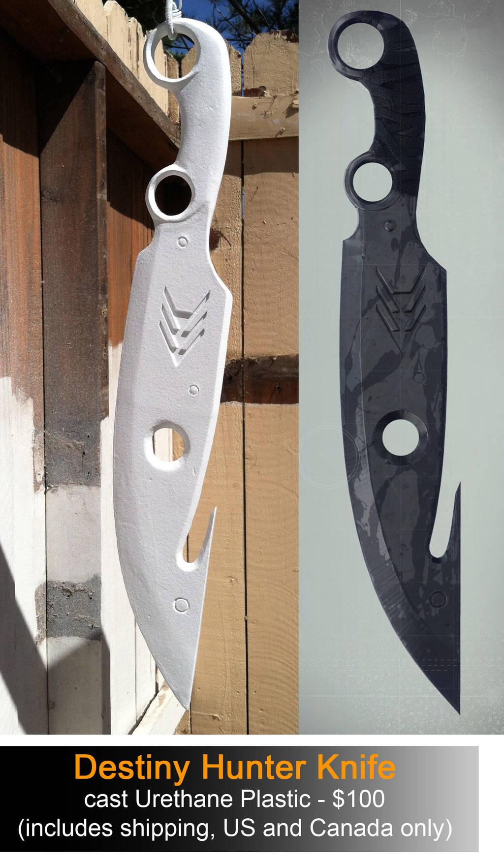 Destiny Hunter Knife by NEMESIS-01
