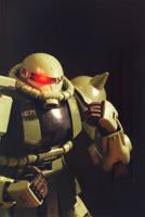 Zaku II by NEMESIS-01