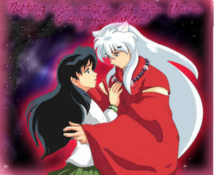 Inuyasha and Kagome by Mario162