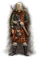 Celtic warrior by jcjacobsson