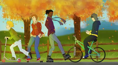 Losers on Wheels by Zteif