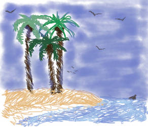 Palm Trees by Codollaeytharis