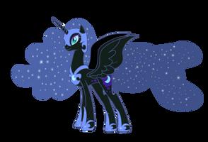Nightmare Moon vector - MLP:FiM by Serginh