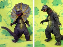 SH Monsterarts Jirass by ZION227