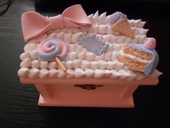 Cotton Candy Decoden by SmilyXAlli