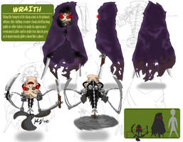 Entry 1, Wraith by mastergloyd