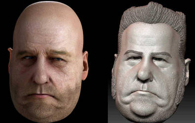 Fat guy head by drummer00