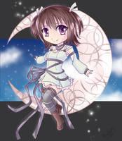 The Moon and I (Kohaku) by MiraiParasol