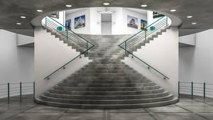 Stairway by NIKOMEDIA