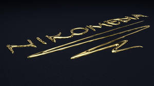 .:: TUTORIAL (C4D) ::. Liquid Gold Text by NIKOMEDIA