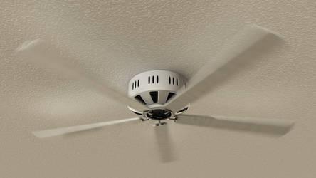 Moving Ceiling Fan by NIKOMEDIA