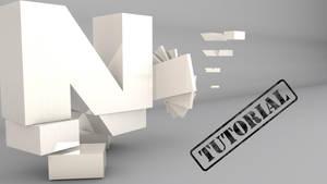 Spinning Text Tutorial (Cinema 4D) by NIKOMEDIA