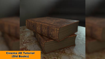 Old Books (Cinema 4D Tutorial) by NIKOMEDIA