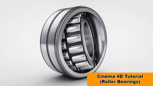 Cylinder Bearings (Cinema 4D Tutorial) by NIKOMEDIA