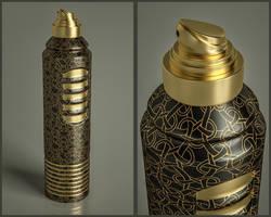 Deodorant Product Render (C4D File and Tutorial) by NIKOMEDIA