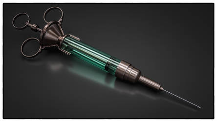 Syringe by NIKOMEDIA