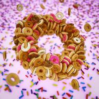 Happy Donut Day by NIKOMEDIA