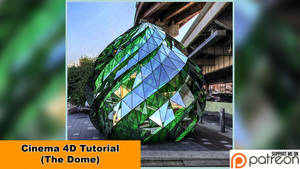 The Dome (Cinema 4D - Tutorial) by NIKOMEDIA