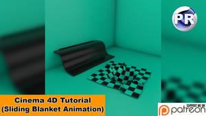 Sliding Blanket Animation (Cinema 4D Tutorial) by NIKOMEDIA