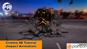 Impact Animation (Cinema 4D Tutorial) by NIKOMEDIA
