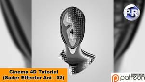 Shader Effector Animation 02 (Cinema 4D Tutorial) by NIKOMEDIA