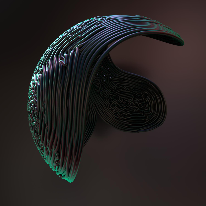 MOVING LIQUORICE (C4D Animation) by NIKOMEDIA