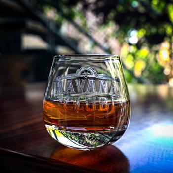 HAVANA CLUB GLASS by NIKOMEDIA