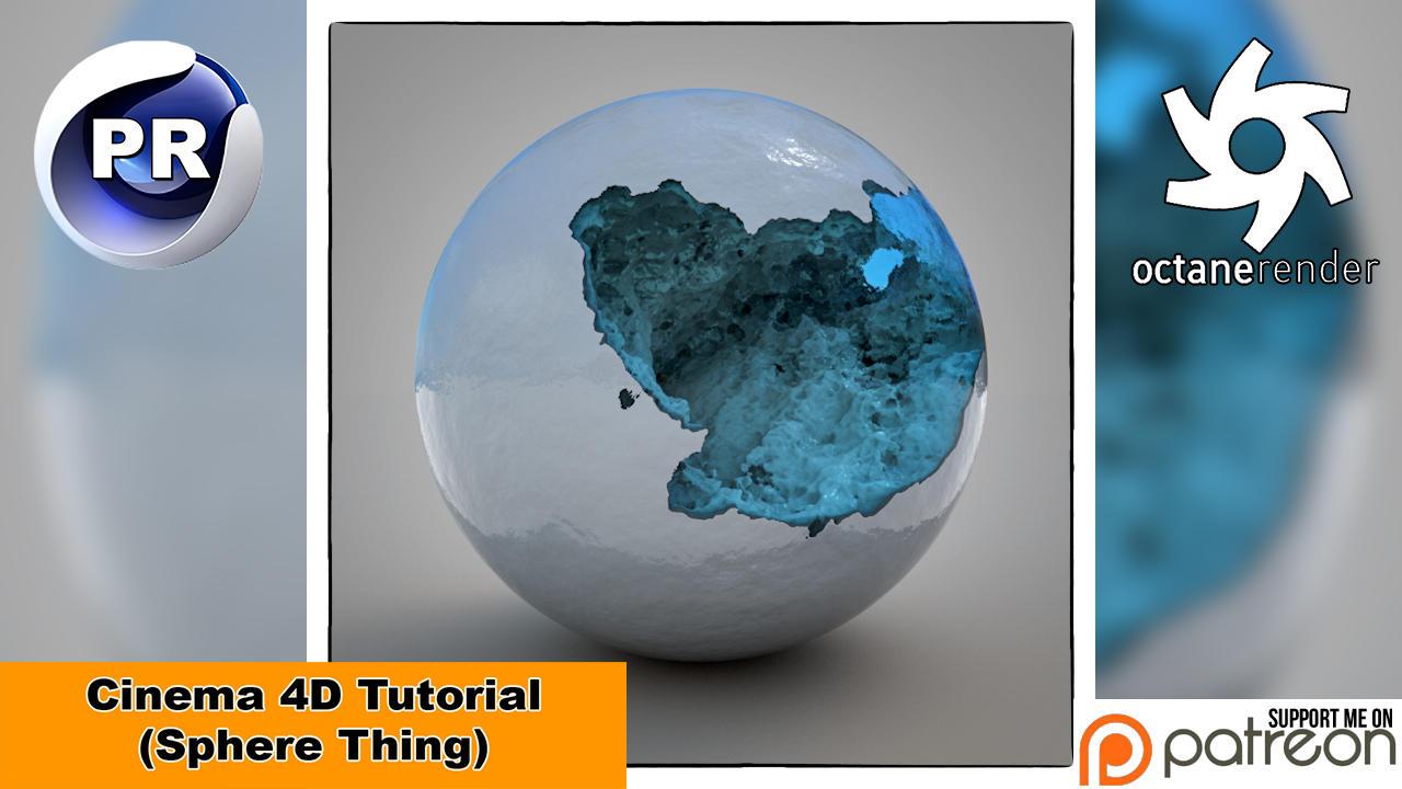 Sphere Thing (Cinema 4D Tutorial) by NIKOMEDIA