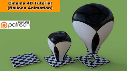 Balloon Animation (Cinema 4D Tutorial) by NIKOMEDIA
