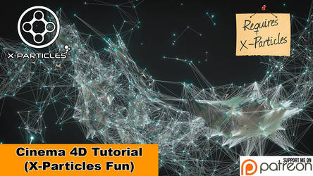 X-Particles Fun (Cinema 4D Tutorial) by NIKOMEDIA