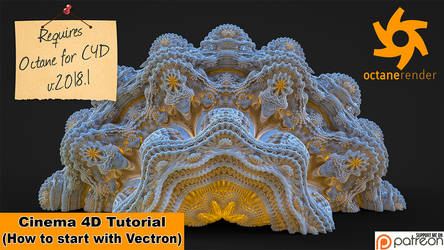 First Steps With Vectron (Cinema 4D Tutorial) by NIKOMEDIA