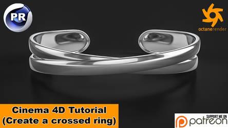 Model a crossed Ring (Cinema 4D Tutorial) by NIKOMEDIA