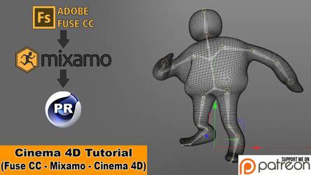 My Mixamo Workflow (Cinema 4D Tutorial) by NIKOMEDIA
