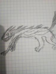 Wolf inspir by dekozeus