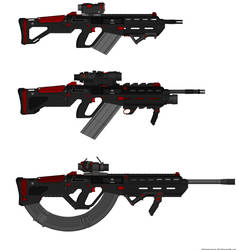 N.E.O.-R.S. Series Rifles (w/info on DSC versions) by Lord-DracoDraconis